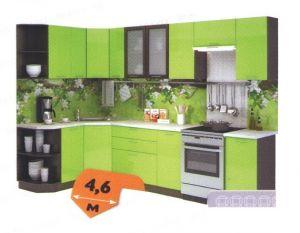 Кухня Лайм глянец 4,6м